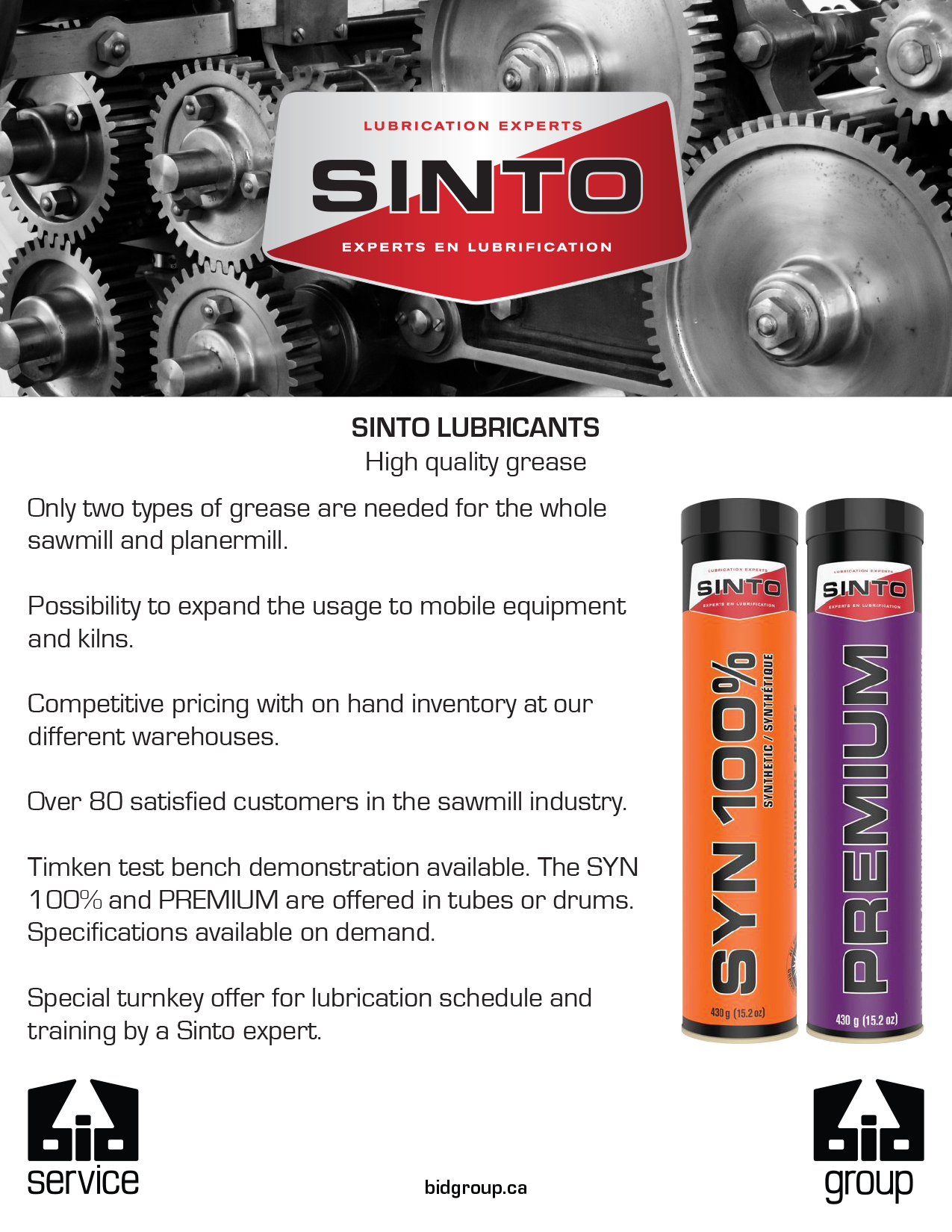 sinto lubricants High quality grease